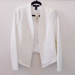 NEW White/Ivory Blazer (Never Worn)